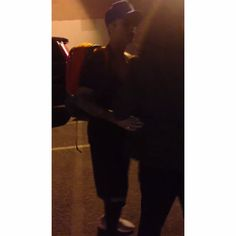 Instagram media by - Video of Justin meeting fans this morning in LA (15th May)
