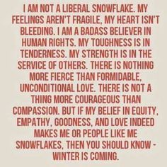 Many Snowflakes can become an avalanche