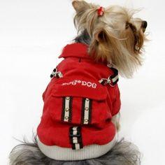 Parkas pour grands chiens imperméables à capuche en vente sur animalerie en ligne gueule d amour mode tendance
