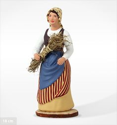 Paysanne Marseillaise - Santons Arterra Christmas Characters, Disney Characters, Polymer Clay Figures, Provence France, Hobbies And Crafts, Costumes, Traditional, Disney Princess, Statues