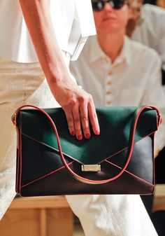 7e45714daedd Yet another impeccable clutch for the blogosphere to lust over and  street-style photogs to. Celine HandbagsCeline BagBest ...