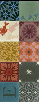 Emery & cie - Tiles - Cement - Models - Patchwork - Examples