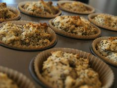 Lemon poppyseed muffins, sweetened with agave nectar substitute for self rising flour - 1 c all purpose flour, 1.5 tsp baking powder, .25 tsp salt and increase liquid a bit