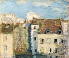 Pierre Bonnard 1867-1947,   Immeubles A Montmartre