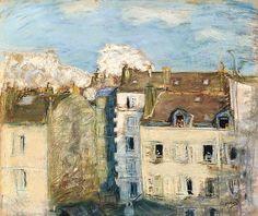 Pierre Bonnard 1867-1947,   Immeubles A Montmartre