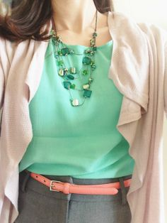 Spring in Pastels #ootd #whatIwore YesAndNazzy (at the office)