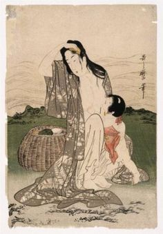 Pearl Divers - Kitagawa Utamaro