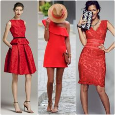 rotes kleid mit rüschen mode partykleider in rot Trends, Chic, Outfits, Fashion Styles, Red Gown Dress, Reach In Closet, Woman, Shabby Chic, Elegant