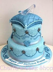 Cinderella Cake Cake Wrecks - Home - Sunday Sweets: Pretty As A Princess, glass slipper on pillow layer Disney Desserts, Disney Cakes, Disney Princess Cakes, Princess Party, Princess Birthday Cakes, Disney Castle Cake, Crazy Cakes, Cute Cakes, Pretty Cakes