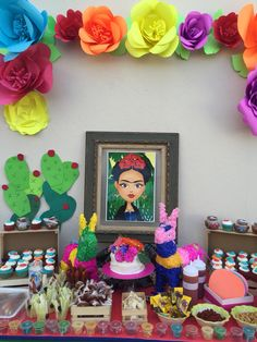 Frida Kahlo theme party