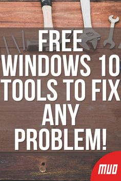 The Best Free Windows 10 Repair Tools to Fix Any Problem Life Hacks Computer, Computer Problems, Computer Projects, Computer Basics, Computer Help, Computer Internet, Computer Repair, Computer Tips, Technology Hacks