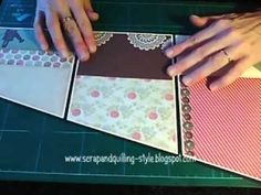 Un mini muy elegante y sencillo para cualquier ocasión Mini Albums, Mini Album Scrap, Mini Photo Albums, How To Make Scrapbook, Memory Album, Mini Album Tutorial, Mini Scrapbook Albums, Scrapbook Layouts, Fancy Fold Cards