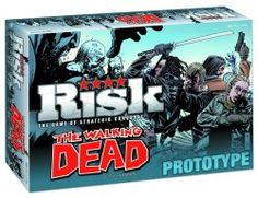 The Walking Dead Risk Comic Edition Board Game   Game requires competition for vital survival resources and defense against the undead $43.9...