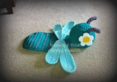 Dragonfly Newborn Baby Photography Prop Set di Simply2Irresistible