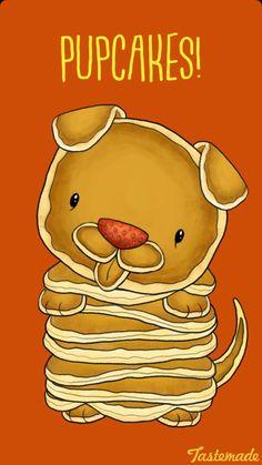 Tastemade illustrations for their snapchat