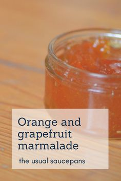 One of my favourite all-time marmalade recipes - it uses the sweetness of oranges and the bitterness of grapefruit to make a very more-ish marmalade!