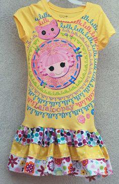 Lalaloopsy Dress!  So cute. @Emily Schoenfeld Schoenfeld Schoenfeld Suthoff  Addison would love this!