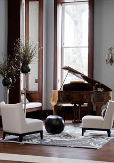 Small Music Room Piano