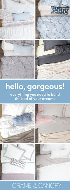 From chic bedding, designer duvet covers to luxury sheets, we've got everything you need build the bedroom of your dreams. Named HGTV's best site for bedding.