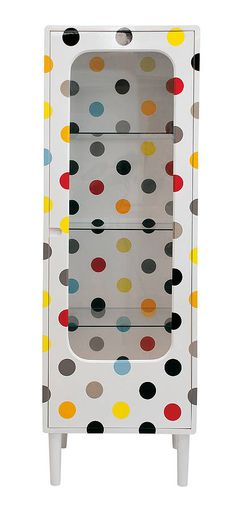 Would  you  dare  go  this  far  to  display  your  Polka  Dot  collection ?
