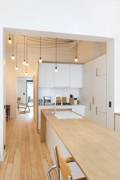 In beeld: transformatie van een gelijkvloers appartement tot een verrassende triplex - Renovatie - Ik Ga Bouwen.be