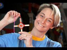 Sophie's World: God's Eye - use small craft sticks to make a S.W.A.P.S., this one is not reversable.