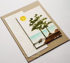 Heart's Delight Cards, Rooted in Nature, Stampin' Up!, Any Occasion Card, Trees, Watercolor,