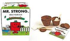 Fruit And Veg, Fruits And Vegetables, Mr Strong, Cake Packaging, Mr Men, Grow Kit, Aqa, Garden Gifts, Grow Your Own