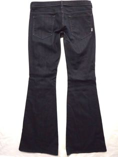 Mother Denim size 31 x 34 The Curfew kick flare Dark wash Low rise Womens jeans #MotherDenim #Flare