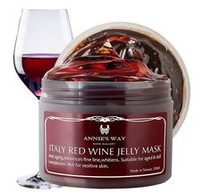 Annie's Way Italy Red Wine Jelly Mask 250ml