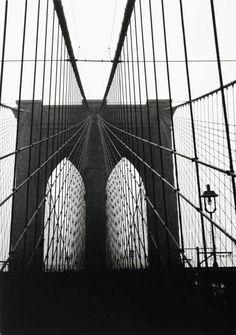 Walker Evans Brooklyn Bridge Photo