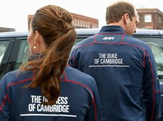 Kate Middleton and Prince William wore matching team shirts to the America's Cup World Series on July 26.