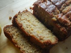 Pear Vanilla Bread--...