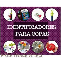 Identifica tus copas! Originales y divertidos.  Disponibles aqui en #TiendaNikita .  #ventasVenezuela #ventas #jueves #copas #tragos #TiendaNikita