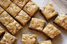 Saving room for dessert: Browned Butter & Bourbon Blondies