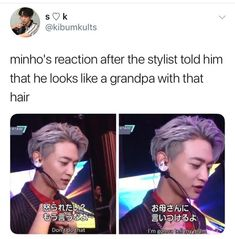 How dare u, I loved his hair like that!