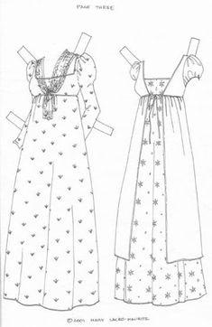 This From soragne - MaryAnn - Picasa Web Albums Paper Dolls Clothing, Doll Clothes, Doll Crafts, Diy Doll, Paper Dolls Printable, Fabric Dolls, Rag Dolls, Felt Dolls, Vintage Paper Dolls