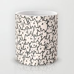 Buy A Lot of Cats Mug by Kitten Rain. Worldwide shipping available at Society6.com. Just one of millions of high quality products available.
