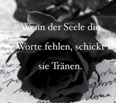 when the soul lacks the words, it sends tears … - Pinshar. True Quotes, Words Quotes, Sayings, Quotes Quotes, German Quotes, German Words, Susa, My Sun And Stars, True Words
