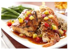 Island Grilled Mahi-Mahi Recipe - good, but could use some spice - garlic, a dash of cayenne...