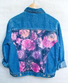 Floral back panel