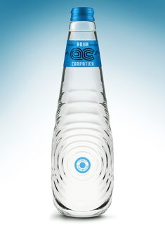 """Aqua Carpatica packaging presented here, is a concept design created for a international contest """"The Perfect Shape for The Perfect Water"""" held by Carpathian Spring and Cohn&Jansen in Water Packaging, Juice Packaging, Glass Packaging, Food Packaging Design, Packaging Design Inspiration, Sparkling Mineral Water, Water Bottle Design, Pet Bottle, Bottle Mockup"""