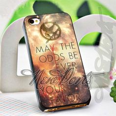 Hunger Games Your Favor Quote  iPhone 4/4s/5/5s/5c by 1newport, $14.75