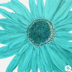 I would love this pic to hang on a wall somewhere! Tiffany blue and flowers...how Girly!!!