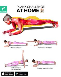 Full Body Gym Workout, Oblique Workout, Gym Workout Videos, Abs Workout Routines, Gym Workout For Beginners, Fitness Workout For Women, Fitness Goals, At Home Workouts, Fitness Motivation