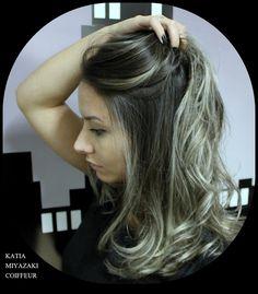 Katia Miyazaki Coiffeur - Salão de Beleza em Floripa: mechas - ombre hair - platinado - granny hair - me...