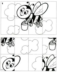 Parça bütün Print the puzzle, have your kids color it, cut it out, and have your kids put it back together! Kindergarten Worksheets, Preschool Activities, Coloring For Kids, Coloring Pages, Scissor Skills, Pre School, Kids And Parenting, Kids Learning, Art For Kids
