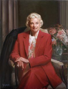 Portrait of Sandra Day O'Connor by Michael Shane Neal