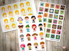 Комплект карточек для Сетки и Цепочки памяти - Занятия для раннего развития детей RightBrain.Training