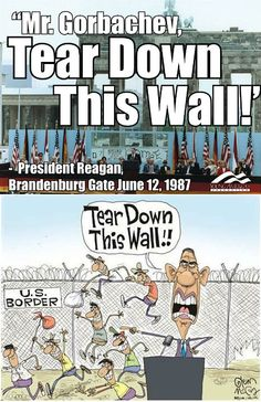 Reagan vs. Obama You Dont Say, Just So You Know, Just In Case, 40th President, President Ronald Reagan, Tear Down This Wall, Political Spectrum, Conservative Republican, Latest Stories